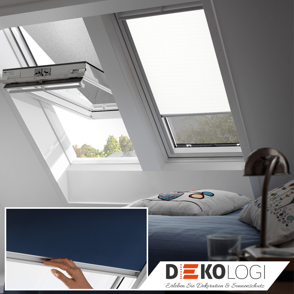 velux hitzeschutz rollo verdunkelung dachfensterrollo holzfenster ggl gpl ghl ebay. Black Bedroom Furniture Sets. Home Design Ideas